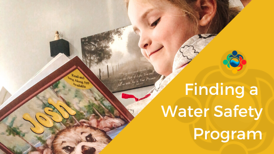 finding a water safety program blog cover