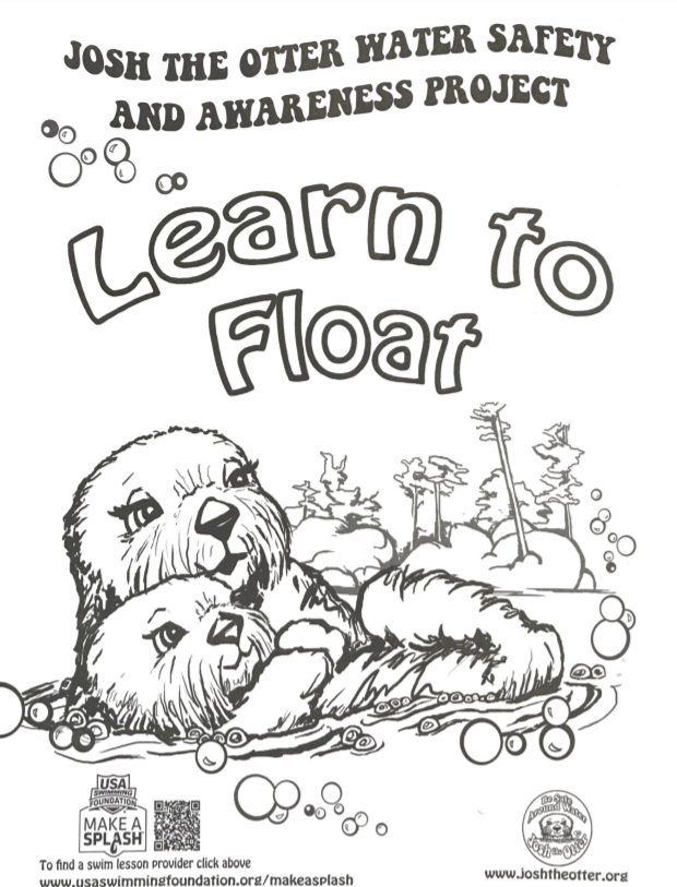 water safety coloring page - Google Search | Summer safety, Water ... | 813x620